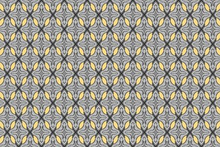 diamond shaped: gray vintage abstract tracery background vector of diamond shaped quadrangle in seamless style