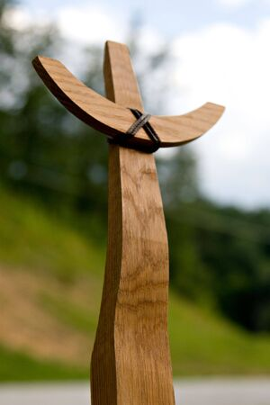 Wooden Cross Reklamní fotografie