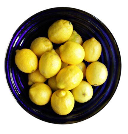 Bol de citrons Banque d'images - 3255483