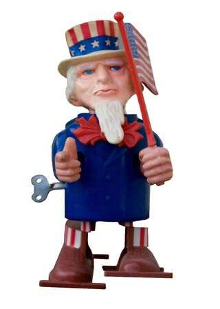 sam: Uncle Sam Antique Toy