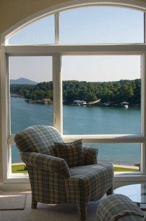 window view: View of lake