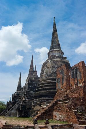 Pagoda Temple, Ayutthaya, Thailand