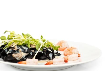 italian prawn noodle