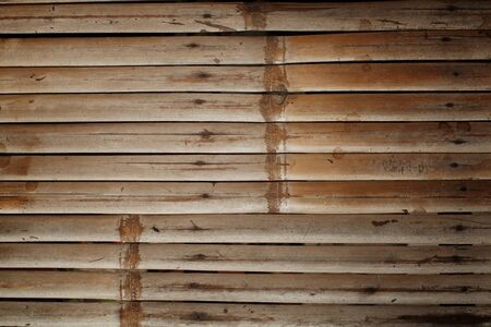 Grunge wall old bamboo background Stock Photo - 15826129