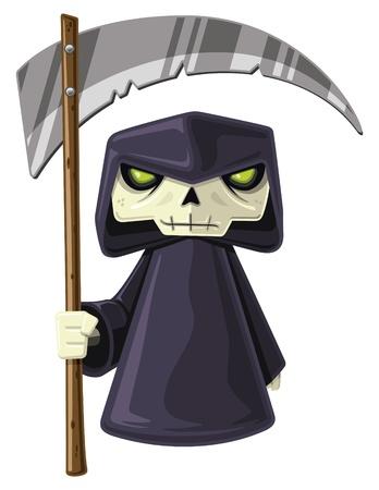 Petit Grim Reaper Banque d'images - 11177384