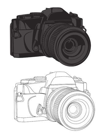 35 mm カメラのベクター