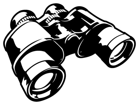 Vector Binoculars Stock Vector - 11915108