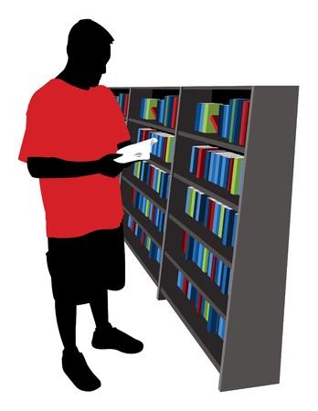 buchhandlung: Guy Lesung in einer Buchhandlung