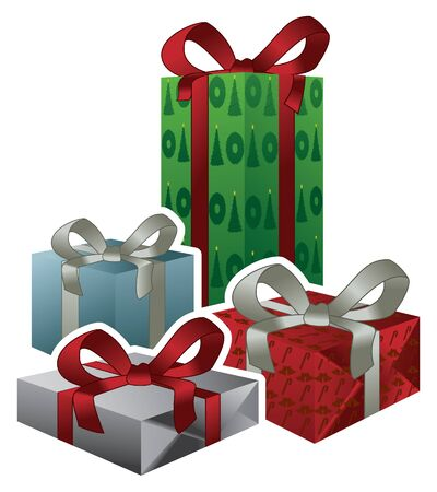 Vector Christmas Gifts