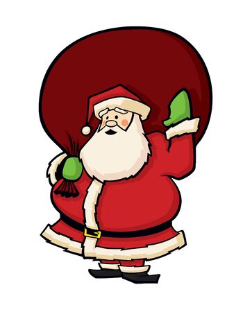 Santa Claus Cartoon Vector Stock Vector - 11995731