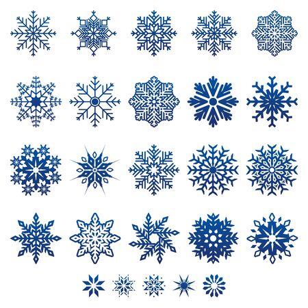 Vector Snow Flakes