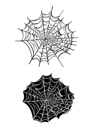 arachnid: Vector Spiderwebs Illustration
