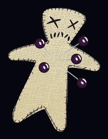 stabbed: Voodoo Doll de dos vectores