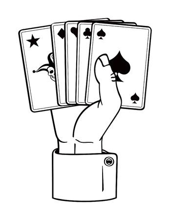 플레이 카드를 보유