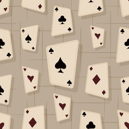 Speelkaart Naadloze Patroon