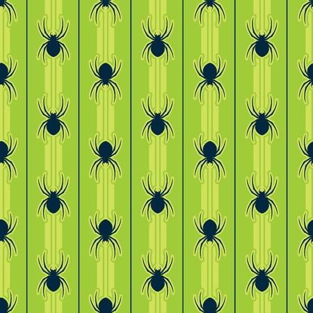 Spider Seamless Pattern Ilustração