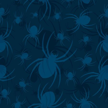 critters: Spider Seamless Pattern Two Illustration
