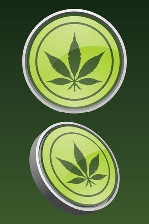 Pot Leaf Icon