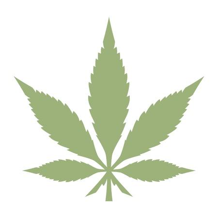 cannabis: Topf-Blatt