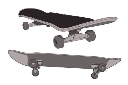 ベクトルのスケート ボード  イラスト・ベクター素材