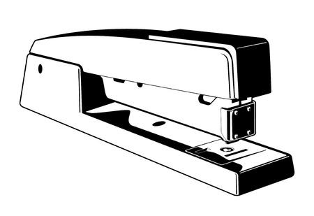 agrafeuse: Vecteur agrafeuse Illustration