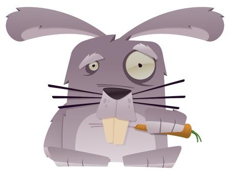 Strange Bunny Ilustração