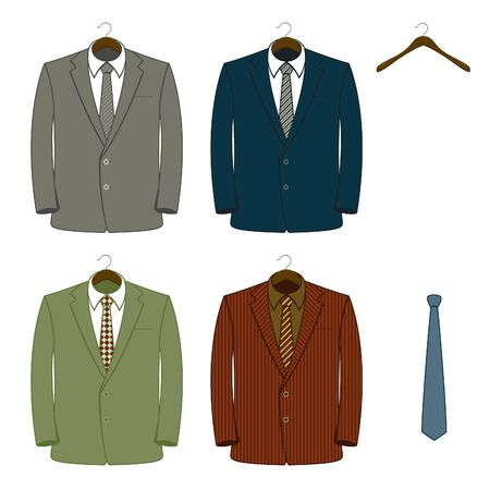 formal attire: Vector Suit Coats