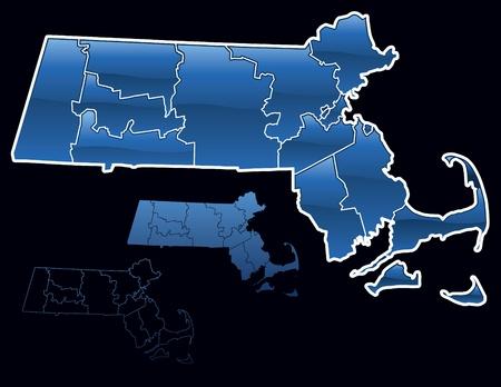 Graafschappen van Massachusetts