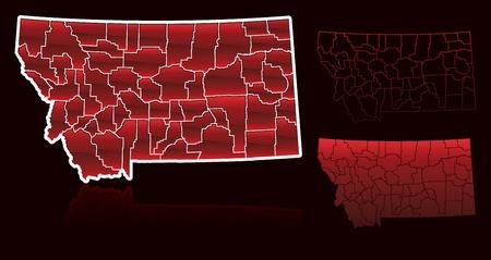counties: Counties of Montana
