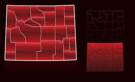 Provincies van Wyoming