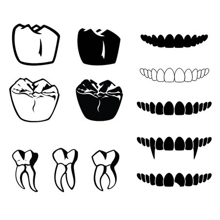 chipped: Vector Teeth