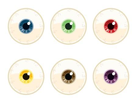 human eye: Vector Eye Illustration