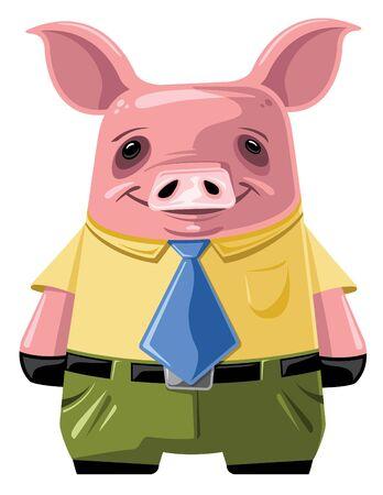 Cerdo de trabajo Foto de archivo - 12093490
