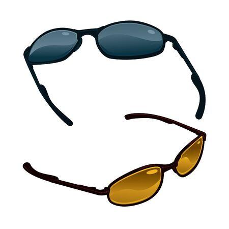 Vector Sunglasses Three Stock Vector - 12093446