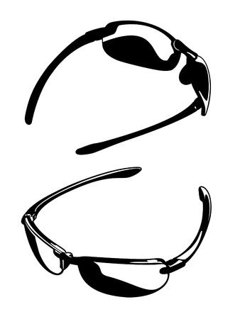 Sunglasses Vectors Three Stock Vector - 12093437