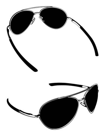 Sunglasses Vectors Çizim