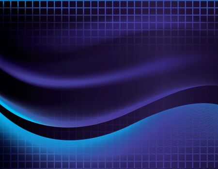 eps 10: Abstract Vector Wave Background. This is an abstract vector background of some wave like elements on a grid. It was saved as a .eps 10 file, and uses gradients and transparencies to achieve its effects.