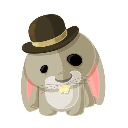 Bunny in a Bowler