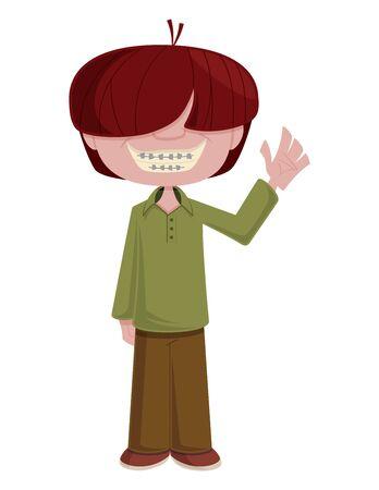 adolescent: The Dork Illustration