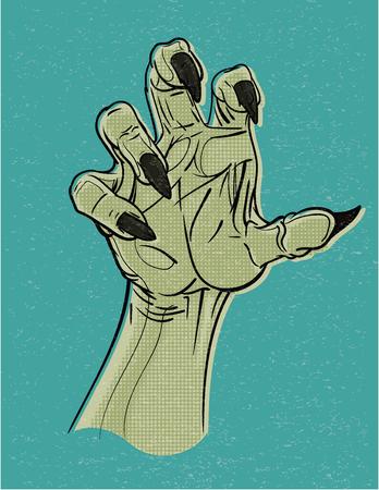 Retro Ghoul Hand