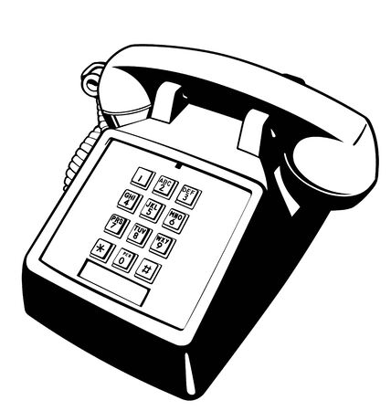 communications equipment: Push Button Telephone