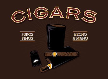 Retro Cigar Ad