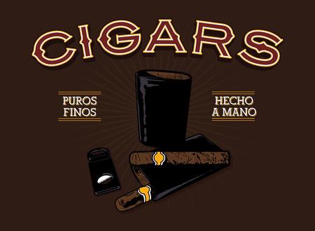 cigar: Retro Cigar Ad