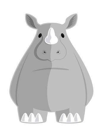 cartoon hippo: Cartoon Hippo