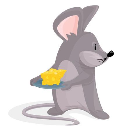 ratones: Ratón con queso