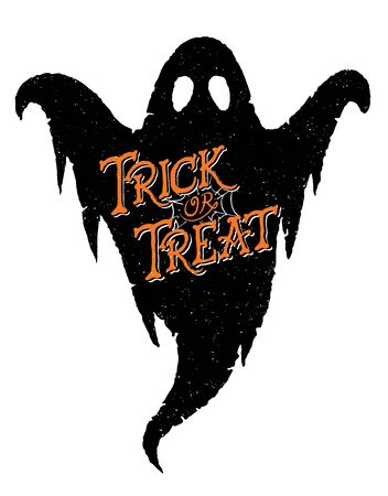 treat: Trick or Treat Ghost Illustration