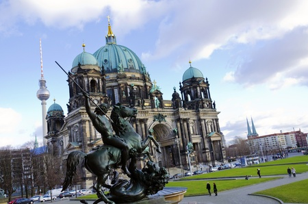 dom: Majestic view of Berliner Dom