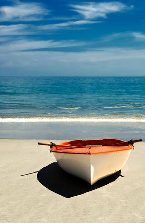 Row Boat on the Beach