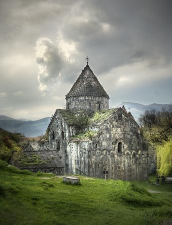 orthodox: Ancient Christian Monastery  Church in Armenia - Sanahin Monastery