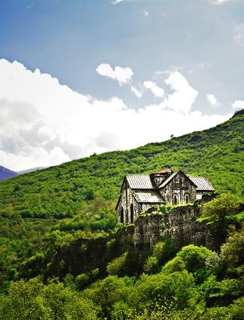 Ancient Christian Monastery  Church in Armenia - Akhtala Monastery photo